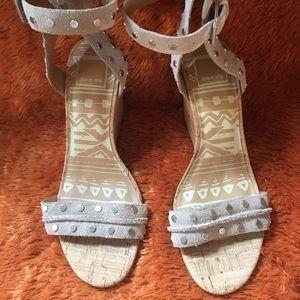 Cream Wedge Shoe